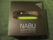 NIB Razer Nabu - Social Wearable Smartband Bracelet (M/L) - Black - New Sealed