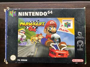 """Nintendo 64 """"Mario Kart 64"""" Game (PAL)"""