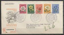 FDC E-9 - zomerzegels 1952 GETYPT ADRES / GESLOTEN KLEP - AANGETEKEND      Ba860