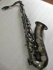 Japanese Bb Tenor Saxophone Black Nickel Gold Surface Professional Instrument