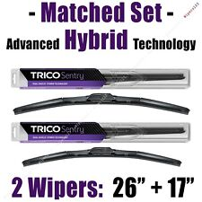 "Matched Set of 2 Hybrid Wipers 26""+17"" Trico Sentry Wiper Blades - 32-260 32-170"