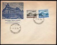 1197 - Trieste, FDC - Patti Lateranensi, 11/02/1954