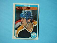 1982/83 O-PEE-CHEE NHL HOCKEY CARD #111 JARI KURRI NM SHARP!! 82/83 OPC