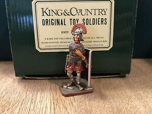 King & Country:  Boxed Roman Centurion. 54mm Solid Metal Figure