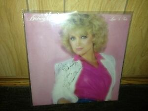 SIGNED Barbara Mandrell LP Album Cover Nice!!