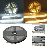 5M 3528 SMD 600 LED Lights Non Waterproof Flexible Strip light DC 12V White new