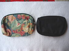 """Set Of 2 Small Multi Purpose Bags , 1, Vintage and 1, Newer """" AWESOME SET """""""