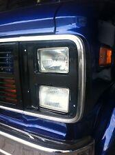 """2x Nebelscheinwerfer mit """"E"""" NEU GMC G20 Vantura G10 G30 Van NSW GM Chevy US"""