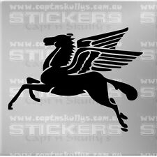FLYING HORSE 2 DECAL 220mmx170mm 15 COLOURS TO CHOOSE MPN 321i