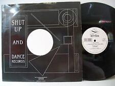 """12"""" VINYL SINGLE. Dream Sequence by Codine. 1991. Shut Up and Dance Records."""