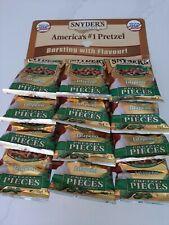 Snyder's Pretzel PEZZI Jalapeno gusto 12 x 56g PKS grande valore £ 12.45 Inc P & P