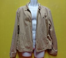 RALPH LAUREN blouson Polo beige Ralph Lauren Jacke Jacket taille XL ref01