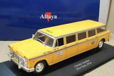 Coche Limousine Taxi Checker Aerobus, Ciudad de New York - 1974 - (1/43) IXO