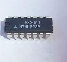 MITSUBISHI 74LS22 (100 PCS)