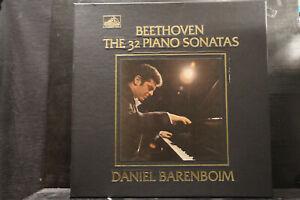 Beethoven - The 32 Piano Sonatas / Daniel Barenboim     9 LP-Box