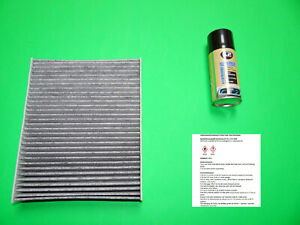 Aktivkohle Pollenfilter + Klimareiniger Seat Ibiza V (6P) ab Bj. 2015->