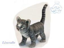 Standing Grey Kitten. Plush Soft Toy Cat by Hansa  6574