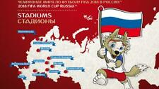 Russia 2017,Booklet Stadiums,FIFA World Championship Soccer Russia'18,2017-077/П