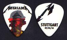 Metallica James Hetfield Stuttgart 4/9/18 Guitar Pick - 2018 WorldWired Tour