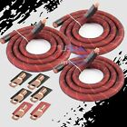 BIG 3 Upgrade 1/0 AWG OFC COPPER Alternator Electrical Cable Wiring Charging Kit