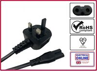 UK Mains Power Lead Cable Cord For Kodak Slide Projector Carousel Ac Electric
