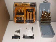 53 Pc. Lot New Power Tool Accessories DeWalt-Black&Decker