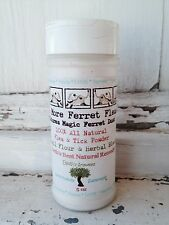 No More Ferret Fleas Natural Flea Control Treatment for Ferrets & Rabbits.