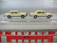 n354-0, 5 #2x Wiking H0 Models Mercedes-Benz MB Taxi, 200