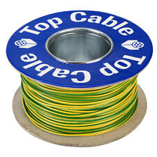 Rapid 100m Reel Green/yellow 7/0.2mm Wire