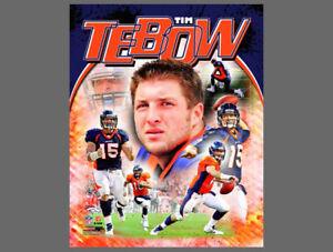 Tim Tebow SENSATION Denver Broncos NFL QB Action Premium POSTER Print - SPECIAL!