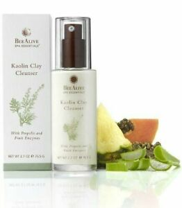 BeeAlive Spa Essentials Kaolin Clay Cleanser Propolis & Fruit Enzymes Natural i2
