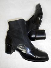 Bottes Bottines classiques Boots Botas Stivali Stiefeletten cuir leather 38