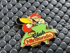 PINS PIN BADGE RETROGAMING NINTENDO CLUB MARIO BROS