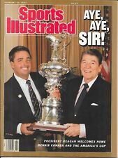 Sports Illustrated RONALD REAGAN America's Cup DENNIS O'CONNER Sailing NO LABEL
