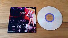 Kylie Performance 2010 Mail On Sunday UK Promo CD UPKLMNG001 Electro Synth Pop