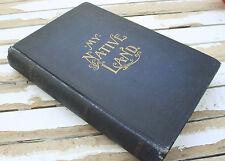 Antique 1st Edition My Native Land James Cox 1895 History Salem Witch Cowboys US