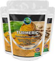 Kurkuma 1505mg Tabletten 95% Curcumin Und Black Pepper Hoch Stärke Nicht Kapseln