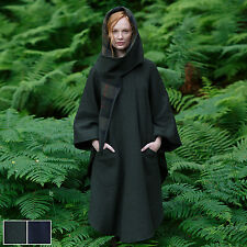 100 Pure Irish Wool Green Walking Cape by Jimmy Hourihan