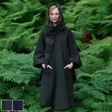100% Pure Irish New Wool Green Walking Cape By Jimmy Hourihan