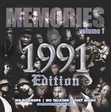 MEMORIES 1991 THROWBACK EDITION VOL. 1 - 2 PAC-TRIBE CALLED QUEST-DJ QUIK-EPMD