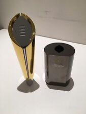 """12""""H METAL REPLICA COLLEGE FOOTBALL NATIONAL CHAMPIONSHIP TROPHY"""