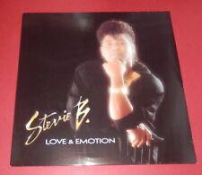 Stevie B. -- Love & Emotion   -- LP / POP