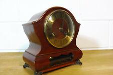 Dutch Warmink Wuba Clock Table Clock Mantel Clock 2 Bells Chime