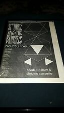 Siouxsie And The Banshees Nocturne Rare Original U.K. Promo Poster Ad Framed!