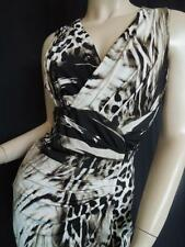 "ROBERTO CAVALLI DRESS 'IL RALE' 6M IT40 ELEGANT NEW EDITION ""FLATTERING STYLE"""