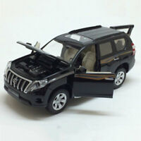 Toyota Land Cruiser Prado SUV 1:32 Scale Model Car Diecast Toy Black Gift Kids