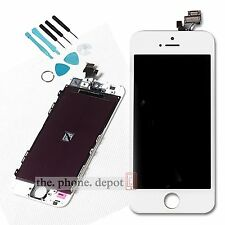 White LCD Display Touch Screen Digitizer Assembly Replacement For iPhone 5 5G UK