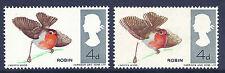 1966 UCCELLI (ord) - SG 698 Robin con colori spettacolari MAIUSC Unmounted MINT / MNH
