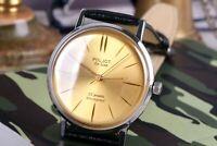 Wrist Watch POLJOT De LUXE, Ultra Slim Watch, Soviet Men's Watch