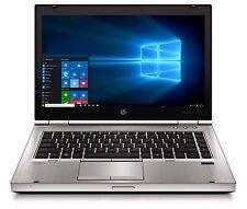 High End HP Elitebook Laptop Intel Core i5 8GB 1TB Windows 10 Wifi